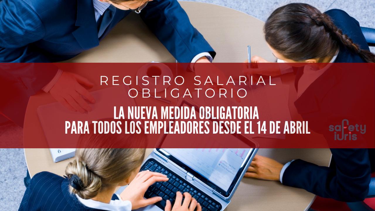 registro salarial